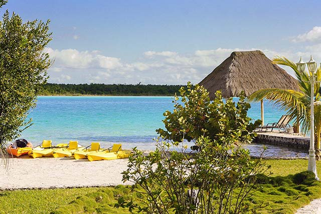 Cabana at Bacalar Lagoon